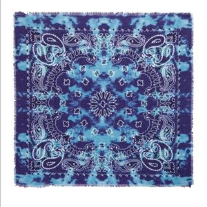Free People Dune Washed Bandana Scarf NEW